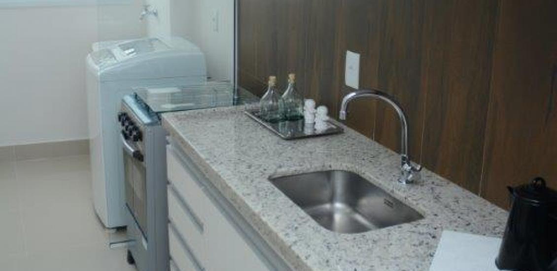 Cozinha e Area de Serviço - Apartamento Decorado