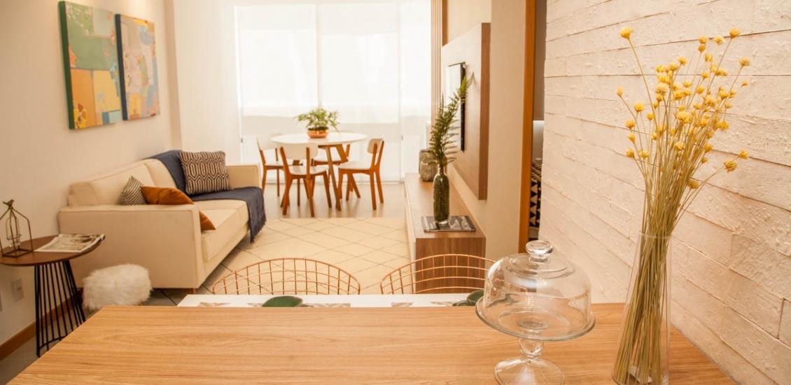 2 Qtos Vogue Enseada - Foto Apartamento Decorado